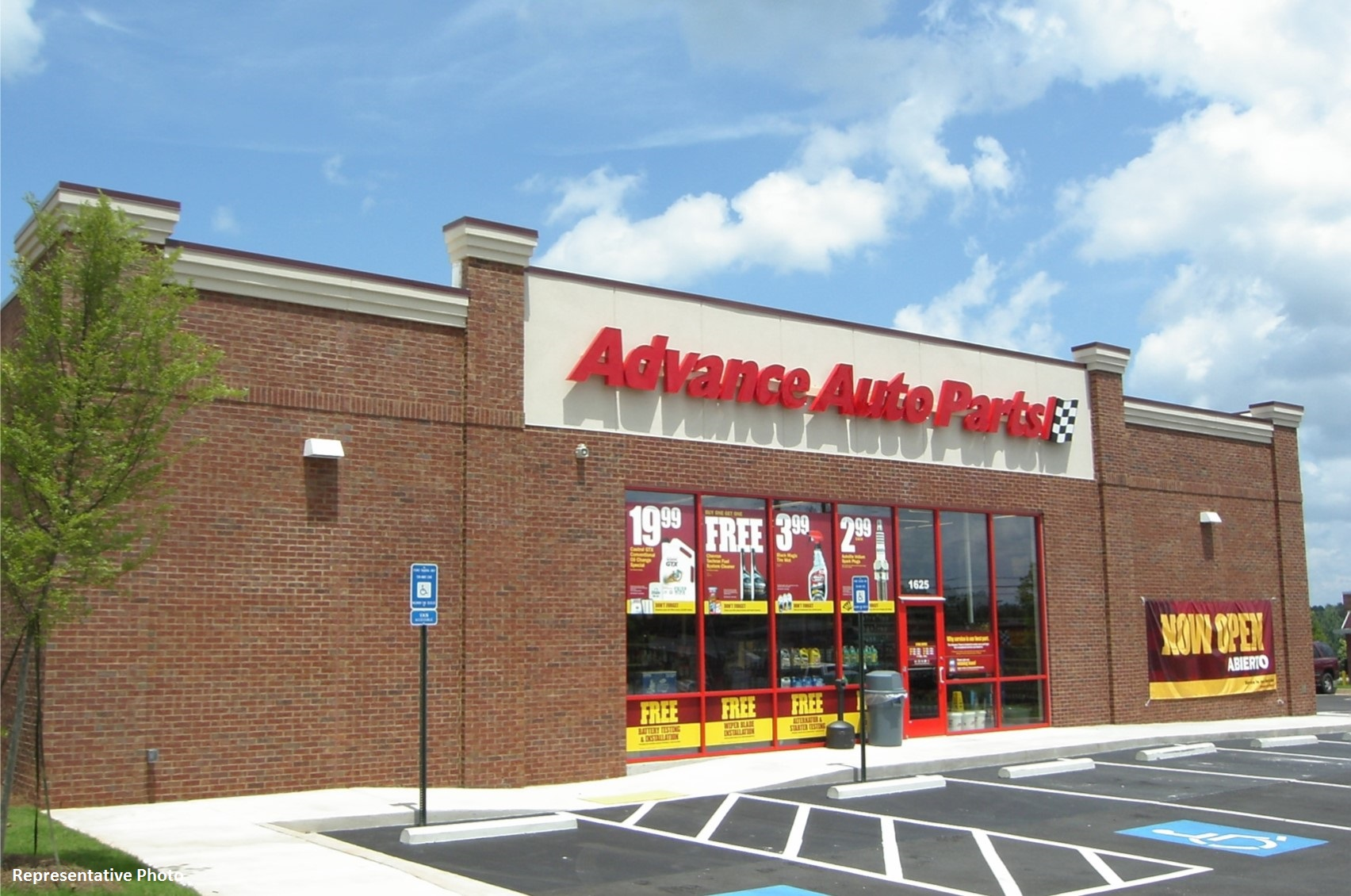 Net Leased Advance Auto Parts Sale