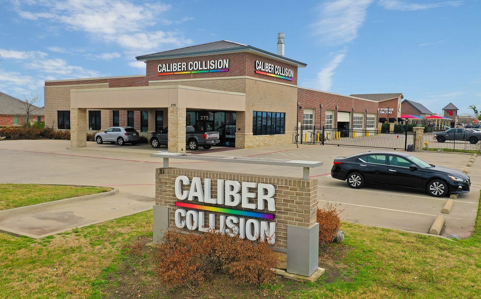Net Leased Caliber Collision